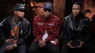 Chris Brown Trey Songz & Tyga - Between the Sheets Tour ft TYGA interview mtv 2014