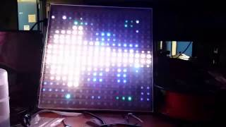 LED Panel with Audio Animations
