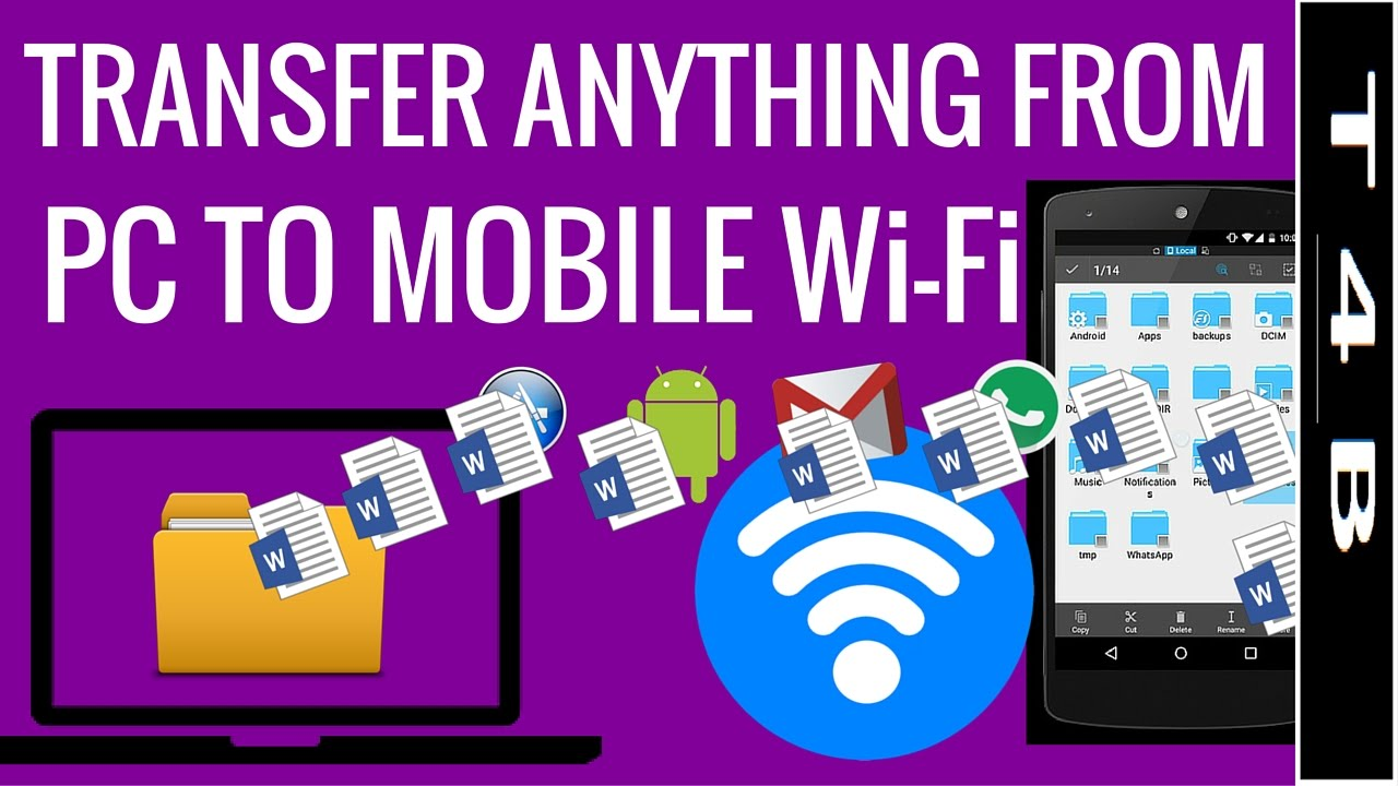 how to connect mobile via pc wifi