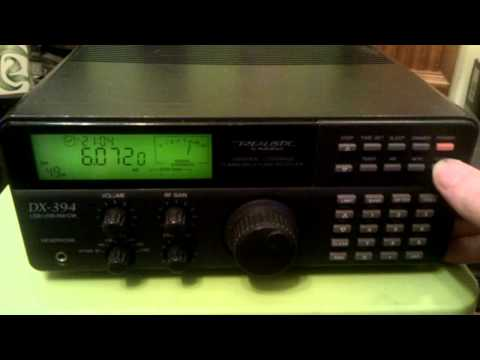 Realistic DX-394 Shortwave Receiver