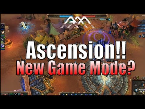 Ascension - New Game Mode? - PBE - League Of Legends