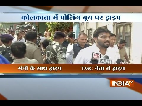 BJP Minister Babul Supriyo Heckled by TMC Workers in Kolkata