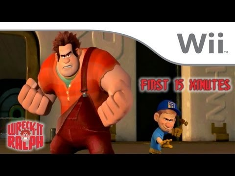 Wreck-It Ralph - First 15 Minutes [Wii]
