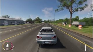 Crew 2 Nissan Skyline Top speed