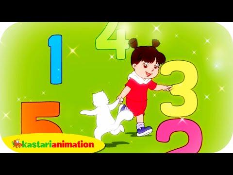 Ayo Berhitung - Lagu Anak Indonesia - Hd | Kastari Animation Official video