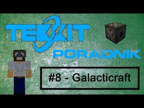 MINECRAFT Tekkit #8 - Jak przetrwać w kosmosie ( Galacticraft ) [ PORADNIK 1.5.1 ]