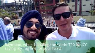ICC World T20 2016 Trophies' Journey to Wankhede Stadium, Mumbai