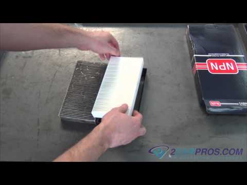 Air Cabin Filter Replacement Honda Civic 2000-2005
