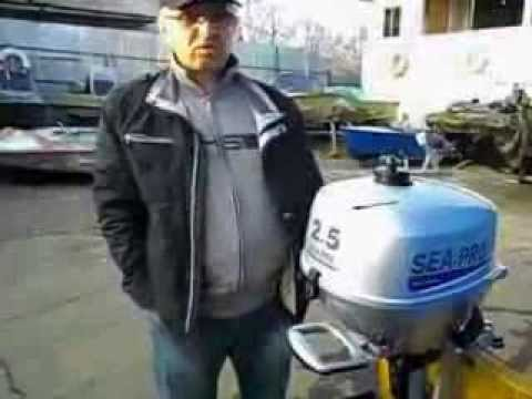 испытания лодочного электромотора