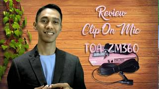 Review Clip On Mic TOA