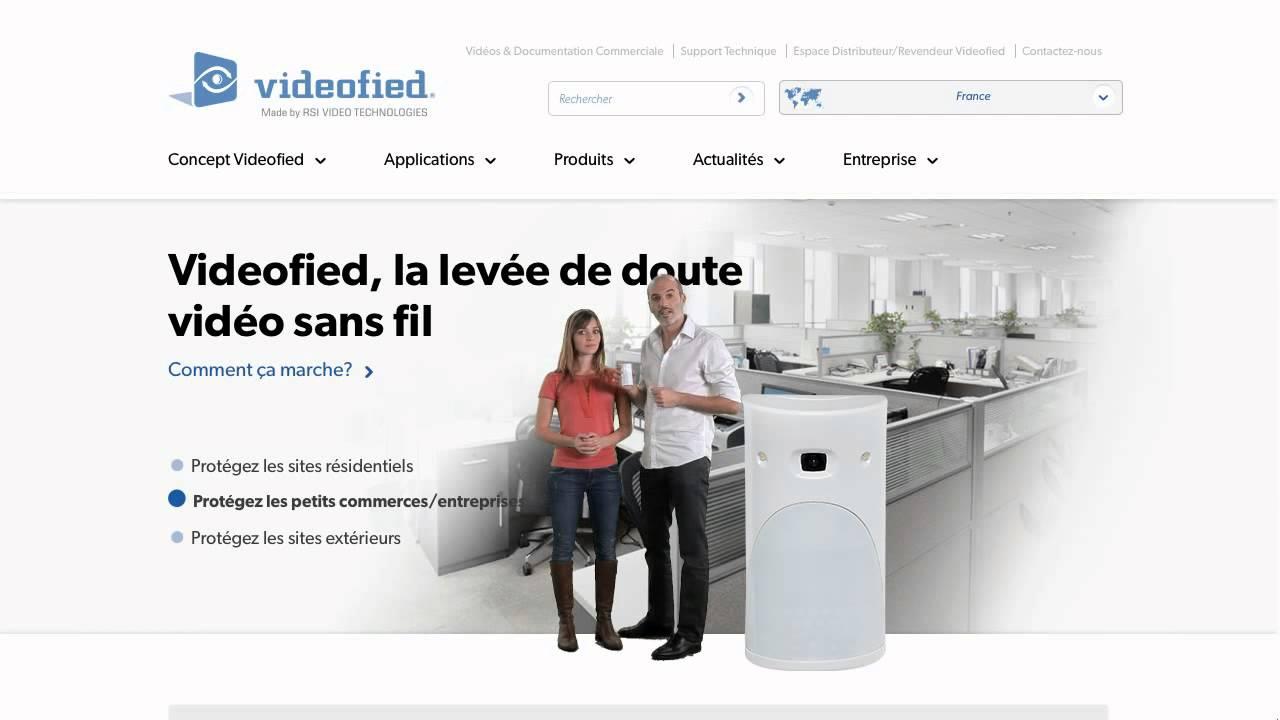 Alarme rsi videofied alarme sans fil maison chantier for Alarme surveillance maison