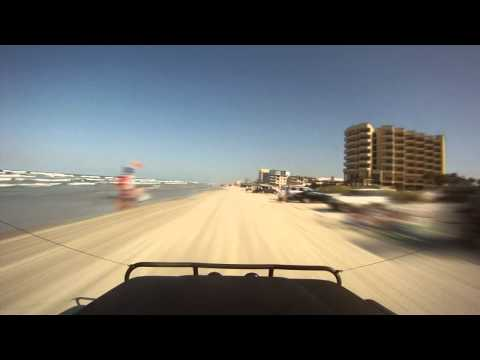 New Smyrna Beach Sunday Cruise GoPro Time Lapse