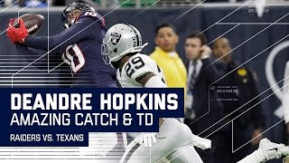 DeAndre Hopkins Amazing Toe-Tap Catch Then Osweiler Finds Him for the TD! | NFL Wild Card Highlights