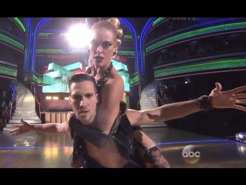 DWTS Season 18 WEEK 10 (FINAL) : James Maslow & Peta - Freestyl - Dancing With The Stars 2014