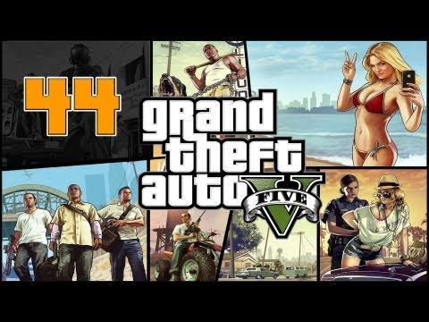 Прохождение Grand Theft Auto V (GTA 5) — Часть 44: Турбулентность / Дартс