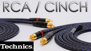 How to | Technics SL 1200 | Fabricación y cambio de cables RCA / Cinch
