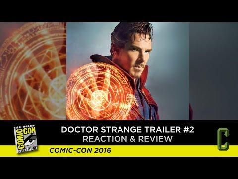 Doctor Strange Trailer #2 Reaction & Review - San Diego Comic-Con 2016