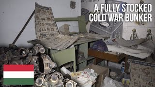 A fully stocked abandoned Cold War Bunker