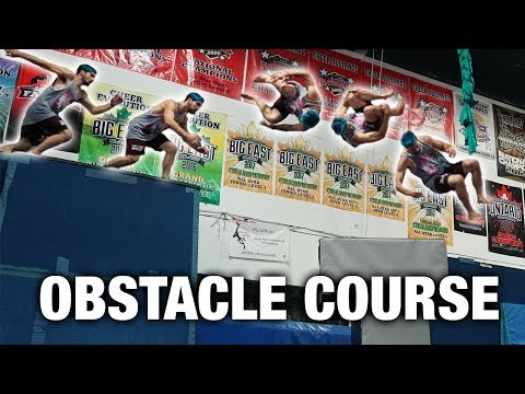 CRAZY TRAMPOLINE PARK OBSTACLE COURSE (with crazy tricks)