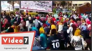 """طلاب """"آداب عين شمس"""" ينظمون مسيرة إلى قصر الزعفران للاعتراض على النتائج"""