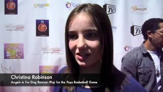 Christina Robinson: Play for the Pups Basketball Game