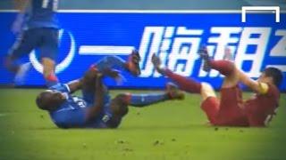 Dema Ba suffers horrific leg break