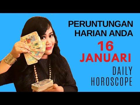 PERUNTUNGAN ZODIAC ANDA HARI INI | 16 JANUARI 2019 - DAILY HOROSCOPE | Endang Tarot (Indonesia)