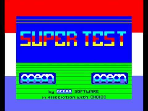 [AMSTRAD CPC] Daley Thompson's Super Test - Longplay & Review
