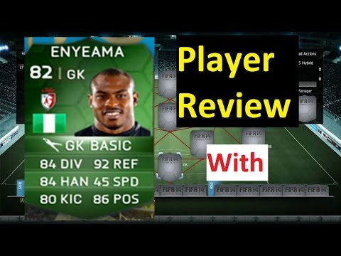 FIFA 14 Player Review - iMOTM Vincent Enyeama
