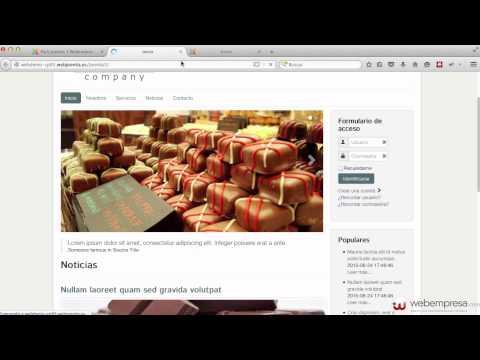 Construcción sitio web Joomla 3 con Pack Webempresa desde cero - 5