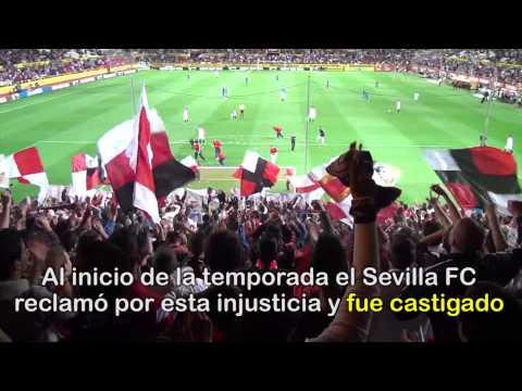 Protesta De Pelotas De Tenis En El Sevilla-Levante