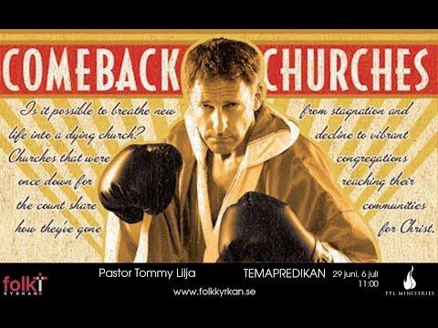 Pastor Tommy Lilja Comeback Churches del II