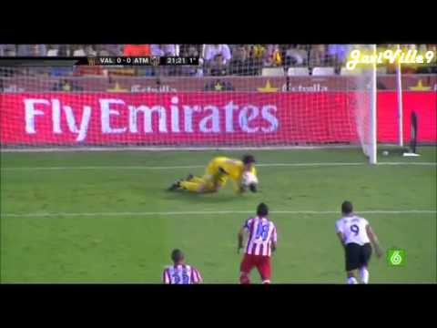 Thibaut Courtois vs Valencia | HD