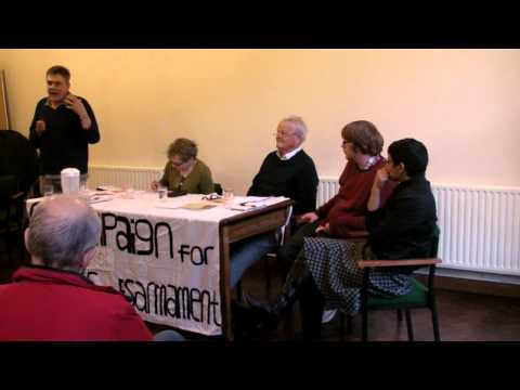 "Andrew Birkin speaks in Bristol at ""Time to Scrap Trident?"" public meeting 2nd April 2013"
