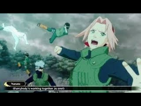 Naruto vs Jinchuruki and Tobi Final Fight : Naruto Shippuden Ultimate Ninja Storm 3