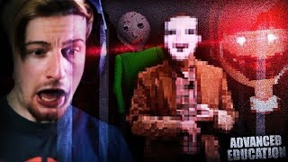 IF BALDI HAD A BROTHER. (THIS IS SCARY) || Advanced Education With Victor