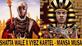 Shatta Wale Finally Features Vybz Kartel (World Boss) On His Latest Song 'MANSA MUSA' (DISCUSSION)