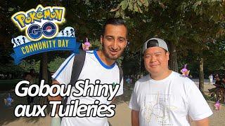 Seb et Ouss : Community Day Gobou aux Tuileries - Pokémon GO
