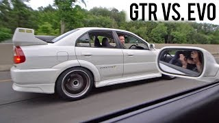 PAYBACK TIME! - BUILT EVO 5 vs. JDM FANBOI GTR