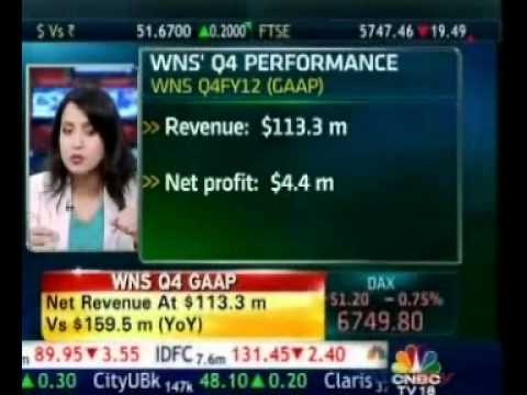 WNS CEO in conversation with CNBC TV-18 - WNS 4th Qtr and Fiscal 2012 Performance