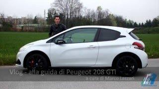 Prova su strada Peugeot 208 GTi - test drive
