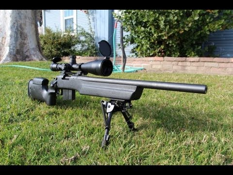 Remington 700 SPS Tactical .308 with Bell and Carlson Stock Overview