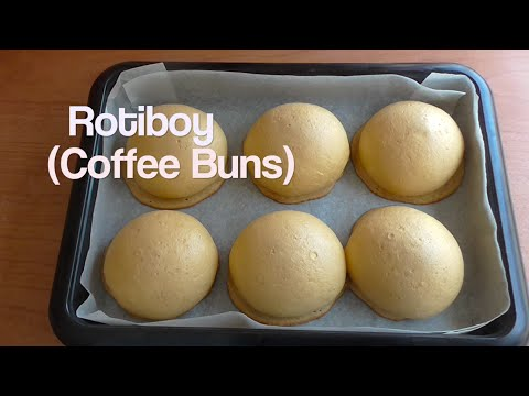 How to make coffee buns recipe (rotiboy / paparoti) / resep rotiboy