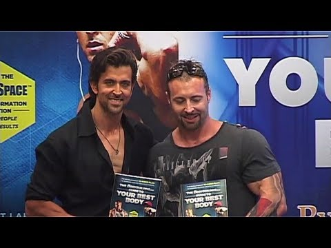 Hrithik Roshan Launches Guide To Your Best Body Book