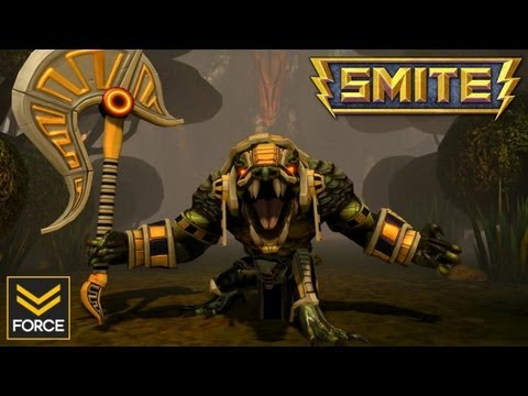 SMITE: SOBEK (Gameplay)