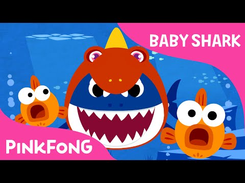 Baby Shark Wearing a Dinosaur Costume!   Animal Songs   PINKFONG Songs for Children