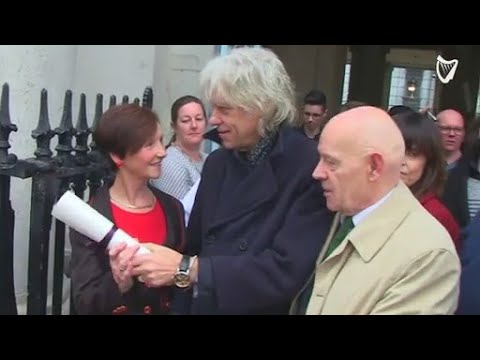 VIDEO: 'I don't want to be on the same list as a killer... a pariah' - Bob Geldof defends decisio...