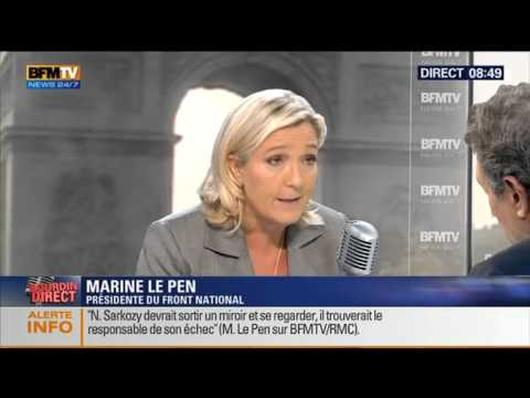 Bourdin Direct: Marine Le Pen – 22/09