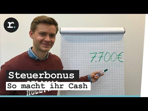 Steuererklärung als Student - So macht ihr Cash!