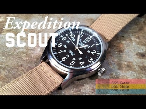 Review: Timex Expedition Scout Watch